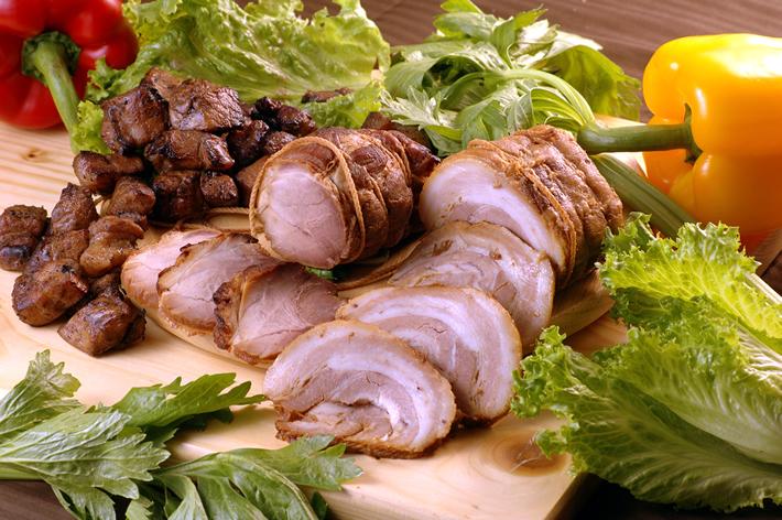 鹿児島黒豚無添加黒豚焼豚セット