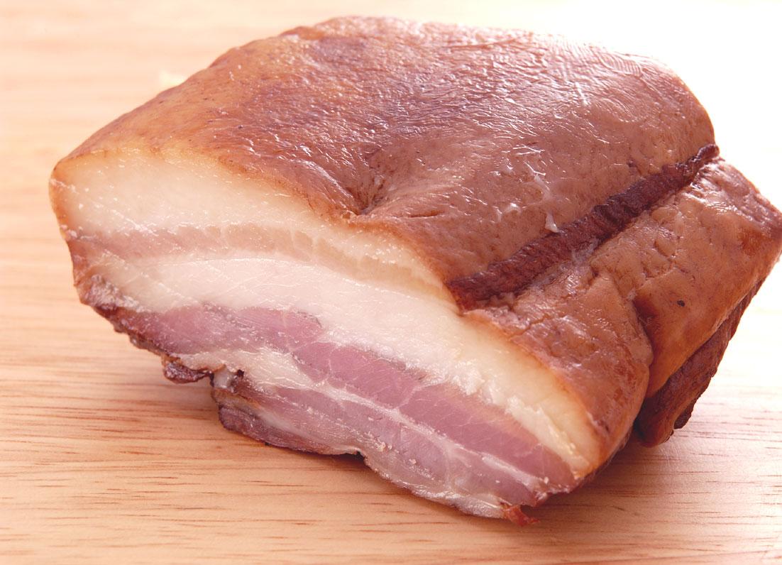 鹿児島黒豚 無添加 長期熟成 ベーコン 鹿児島ますや