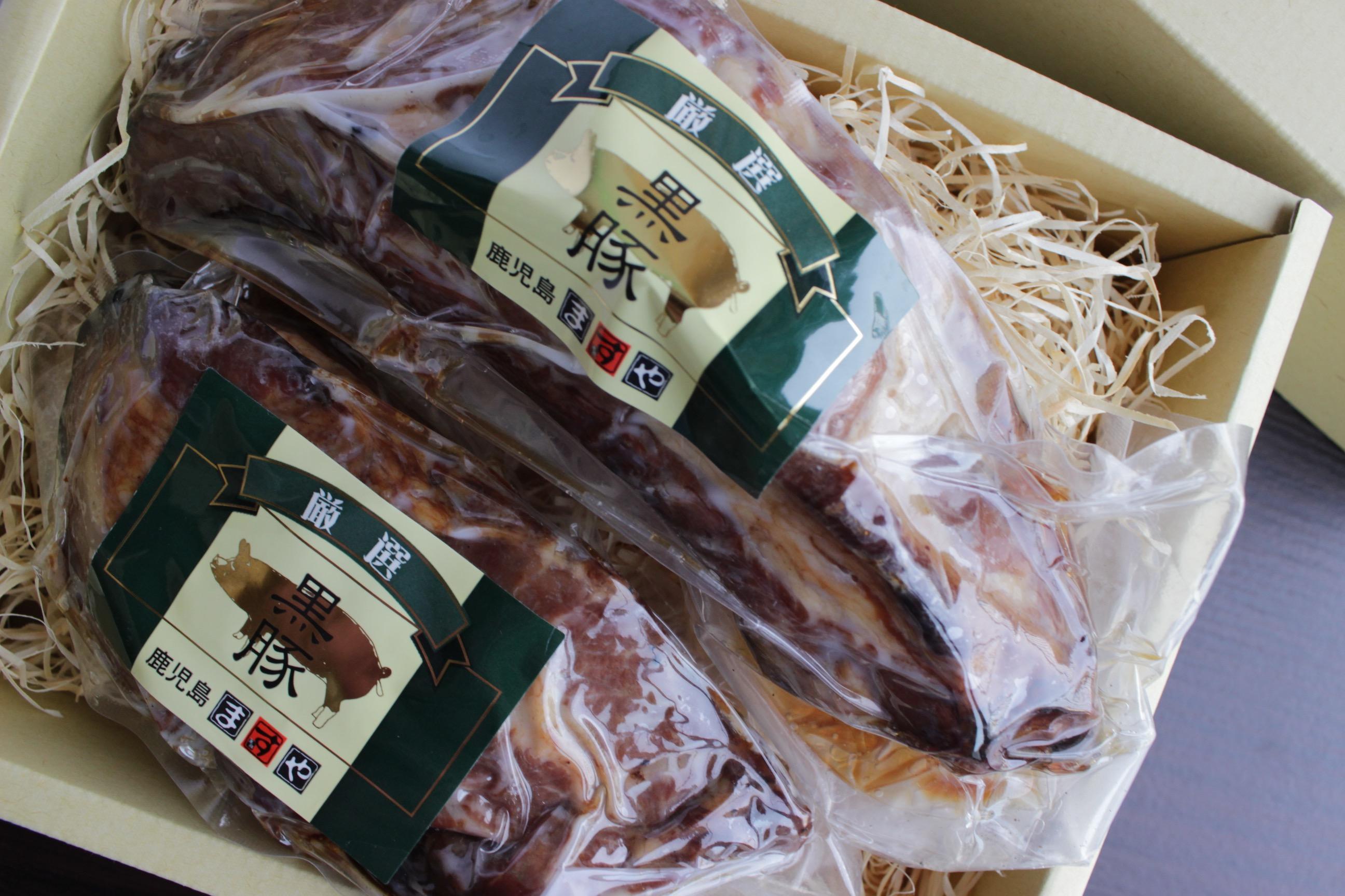 鹿児島ますや黒豚スペアリブ焼